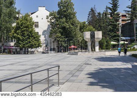 Center Of Famous Spa Resort Of Velingrad, Bulgaria