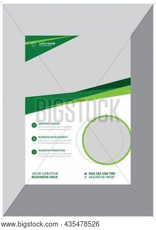 Modern Creative Business Flyer Design Template Vector