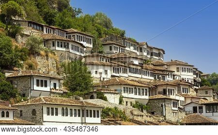 City Of A Thousand Windows, Berat In Albania, Site By Unesco