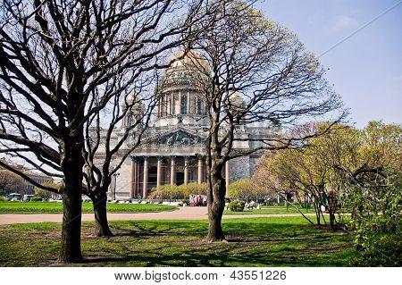 Saint Isaac's Cathedral or Isaakievskiy Sobor