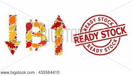 Bitcoin Volatility Mosaic Icon Organized For Fall Season, And Ready Stock Corroded Stamp Seal. Vecto