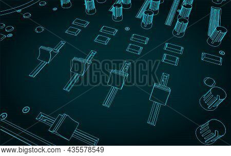 Dj Controller Illustration Close Up