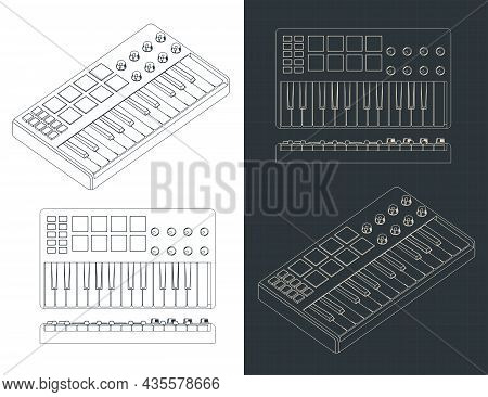 Midi Controller Keyboard Blueprints