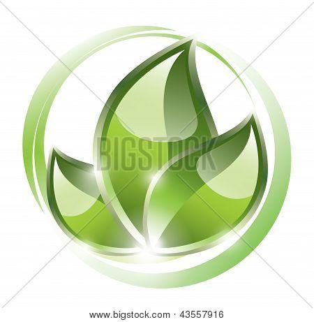 Eco plant icon