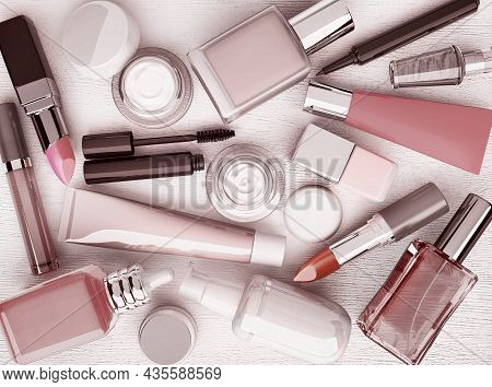Make-up.trendy Glamour Makeover Product Set.makeup Products, Make Up Tools. Foundation, Concealer. T