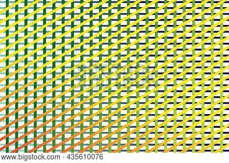 Vector Graphic Of Horizontal Stripe, Vertical Stripe And Diagonal Pattern Stripe In Gradient Backgro