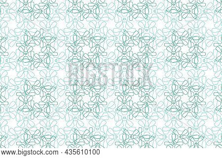 Vector Graphic Of Seamless Decorative Pattern In Smooth Color. Certificate Texture Design. Watermark
