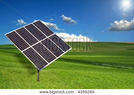 Solar Panel Sun Tracking System