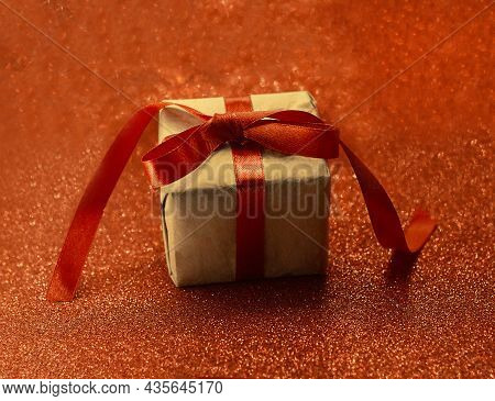 Christmas Background. ... Festive Christmas Card. Christmas Background, Festive. Gift On Red. Copy S