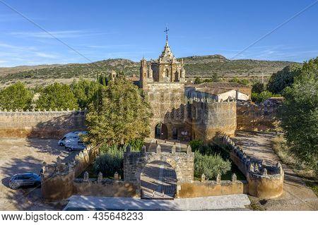 Entrance To The Veruela Abbey Royal Monastery Of Santa Maria De Veruela, Vera De Moncayo, Zaragoza,