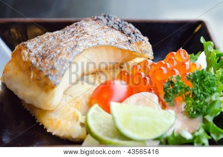 Grilled Cod Fish