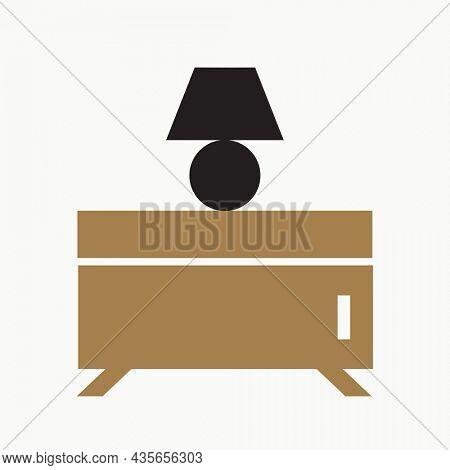 Sideboard logo design, interior furniture business