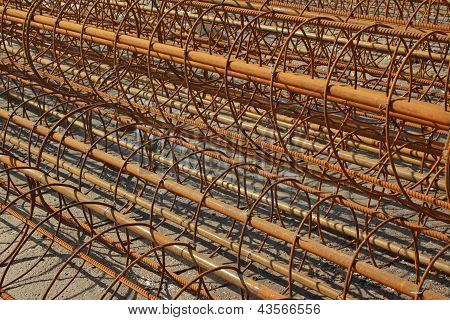 Steel Bars Construction Materials