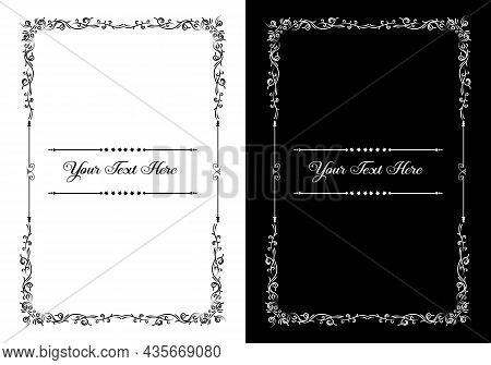 Frames Decorative And Borders Standard Rectangle Proportions Backgrounds