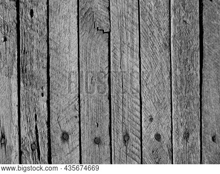 White Vertical Wooden Wall Texture Background, Top-down Of Table Wooden For A White Pattern And Whit