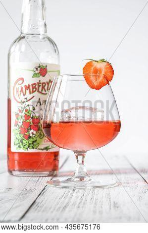 Glass Of Chamberyzette