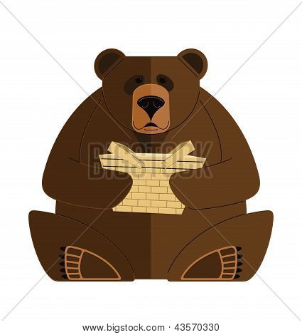 Bear with a Basket