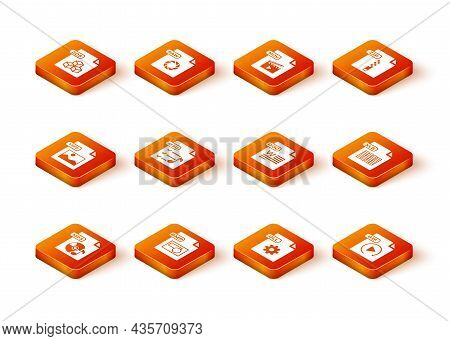 Set Mp3 File Document, Bmp, Tiff, M3u, Dll, Doc, Gif And Xls Icon. Vector