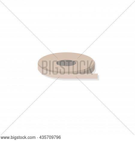 Measurement Transparent Isolated Illustration. Measurement Transparent Flat Icon On White Background