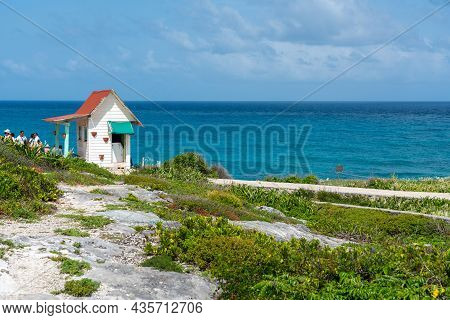 Isla Mujeres, Cancun, Mexico - September 13, 2021: Punta Sur - Southernmost Point Of Isla Mujeres, M