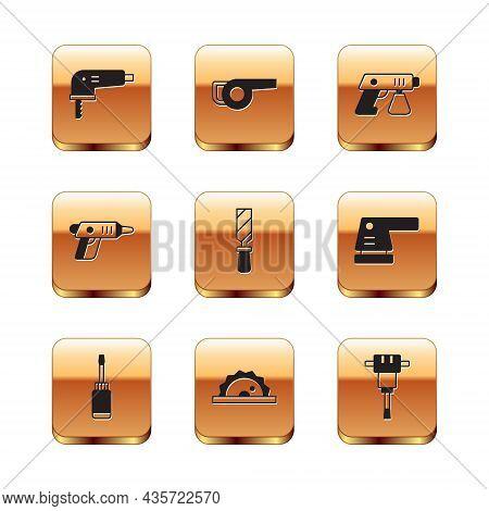 Set Electric Jigsaw, Screwdriver, Circular, Rasp Metal File, Cordless Screwdriver, Paint Spray Gun,