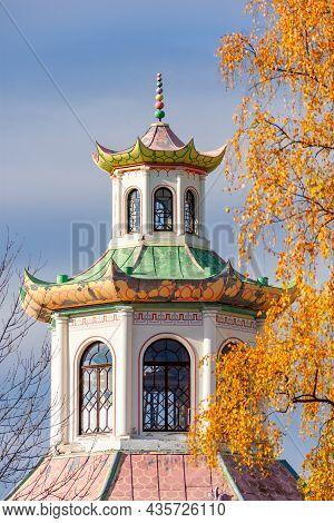 Chinese Village In Alexander Park, Tsarskoe Selo (pushkin), Saint Petersburg, Russia