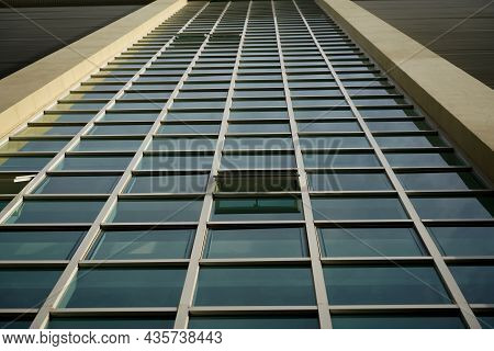 Window Panes Of Tall Buildings, Texture And Pattern Ideas