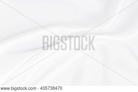 White Gray Satin Texture That Is White Silver Fabric Silk Background With Beautiful Soft Blur Patter