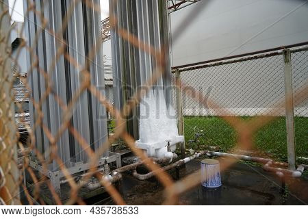 Ammonia Storage Facility In An Industrial Plant