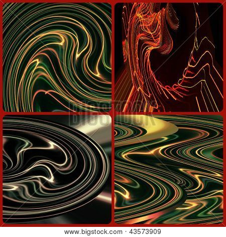 Scrapbook - Abstract Light Painting