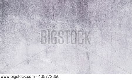 Cement Wall Construction Concrete Material Background. Old Dirty Gray Paint Mortar Texture Grunge Su