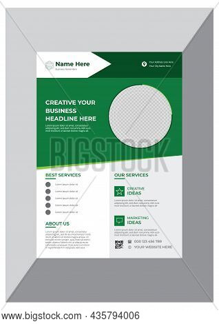 Promotional Classical Business Flyer Design Template Vector