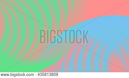 Sonar Sound Wave Abstract Colour Vector Background