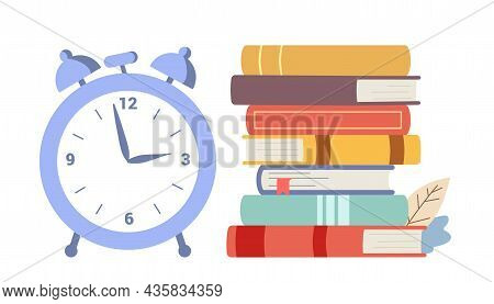 Speed Reading On Timer Education Concept Reading And Listening Study Self Education Late, Assimilate