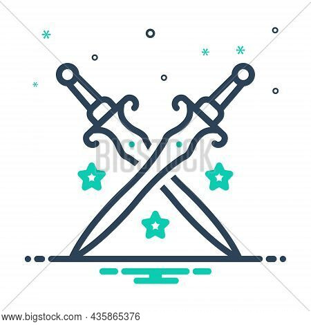 Mix Icon For Royalty Sword Authority Kingship Battle Emperor Imperial Kingdom Dynasty