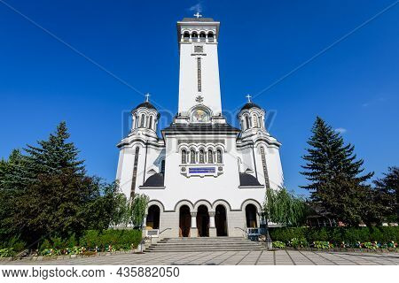 Holy Trinity Orthodox Church (biserica Sfanta Treime) In Sighisoara City Near Tarnava Mare River, In
