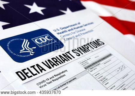 Coronavirus Department Of Health And Human Service Delta Variant