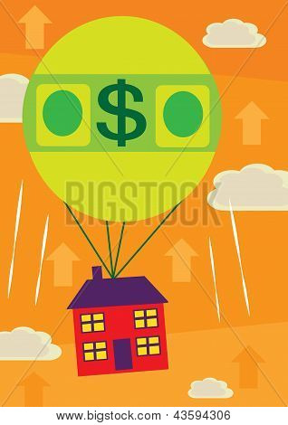 Dollar House Price Increase