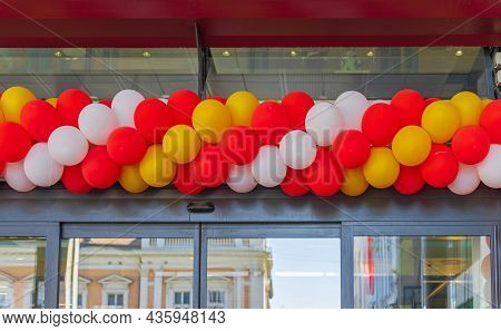 Colourful Latex Balloons Swirl Spiral Party Decoration
