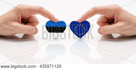 The Concept Of Friendship And Diplomatic Relations Between Estonia And The European Union. Two Male