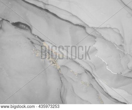 Alcohol Ink. Grey Liquid Texture. Oil Wave Wallpaper. Alcohol Ink Illustration. Geode Art. Art Flow