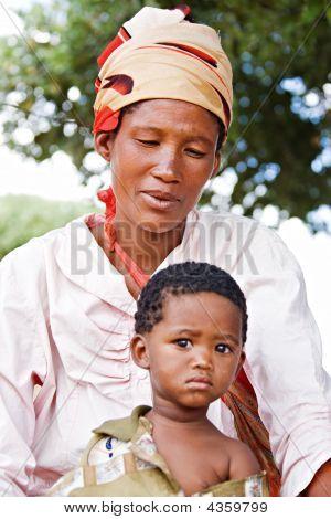 Basarwa Family
