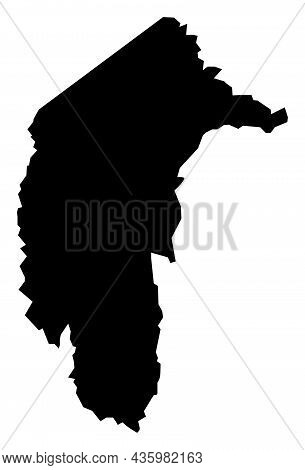 Vector Australian Capital Territory - Australia Map Illustration. An Isolated Illustration Of Austra