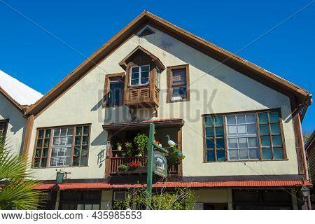 St. Augustine, Fl, Usa - Jan. 25, 2019: Historic Commercial Buildings At 11 Aviles Street In Histori
