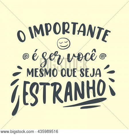 Self Help Portuguese Poster. Translation From Brazilian Portuguese: