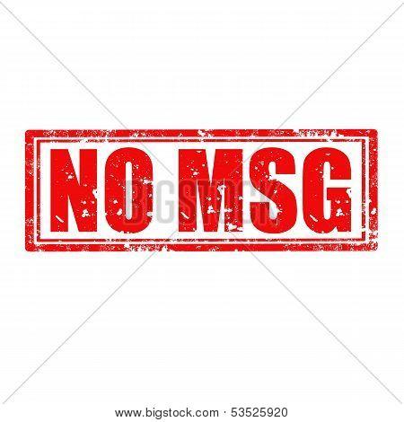 No Msg-stamp