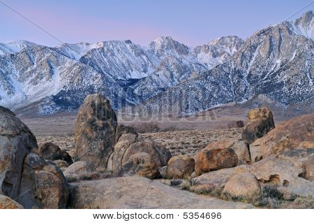 Eastern Sierra Nevada Mountains