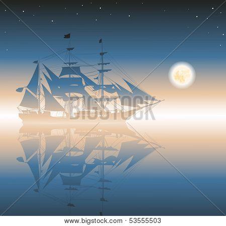 old pirates ship