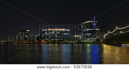 A Hayden Ferry Lakeside Night View, Tempe