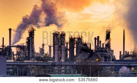 Smokestack In Factory